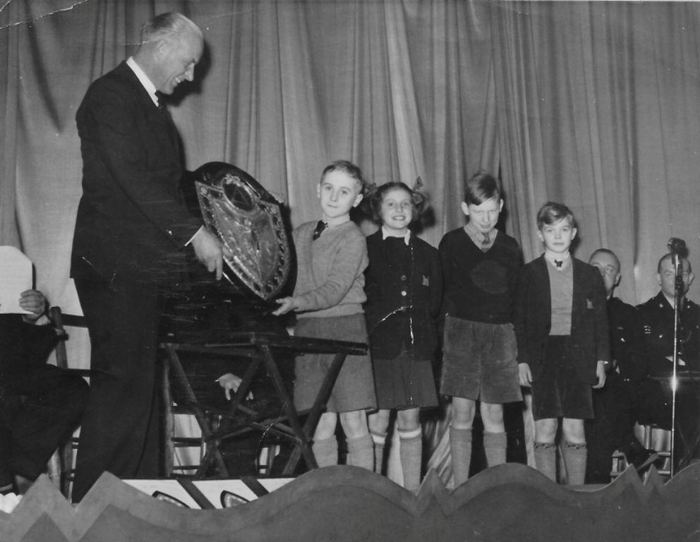 Road Safety Award Presentation 1951