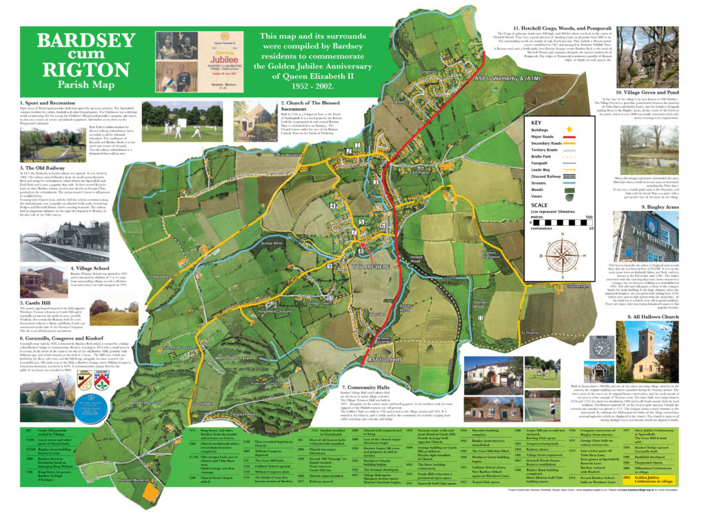 Bardsey Parish Map